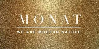 Monat hair care range.